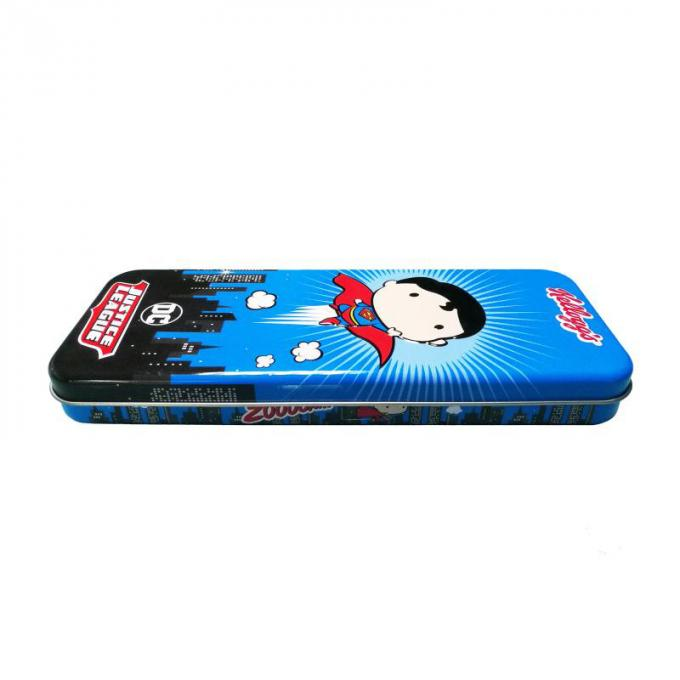 Rectangle Metal Pen Box Customized Logo Acceptable Durable Long Use Life